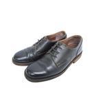 モト MOTO プレーントゥ オックスフォード シューズ レザー 靴 ブラック size2