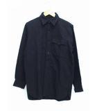 ヴィンテージ VINTAGE USN 40's CPOシャツ 片ポケ ウール オリジナル ダークネイビー