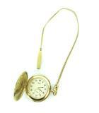 セイコー SEIKO BASE METAL JAPAN 懐中時計 ホワイト文字盤 クォーツ 時計 ゴールド