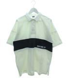 アヴィレックス AVIREX 半袖 ラガーシャツ トップス オーバーサイズ ホワイト L