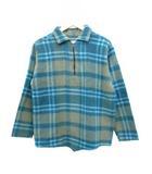 ヴィンテージ VINTAGE CUSTOM SPORTSWEAR 60's ウールシャツ プルオーバー チェック グリーン L