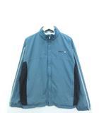 リーボック Reebok 90's ブルゾン ジャケット ビッグシルエット ジップアップ 上着 ブルー S