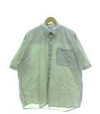 コロンビア Columbia ワークシャツ 半袖 ボタンダウン トップス ベージュ XL