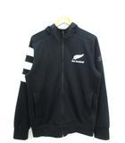 アディダス adidas オールブラックス ALL BLACKS フーディー ジャケット パーカー ラグビーニュージーランド代表 ブラック O
