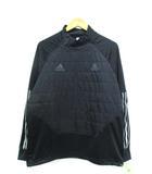 アディダス adidas TAN テック ウォームピステ トレーニング サッカー フットサル ブラック L