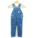 エドウィン EDWIN キッズ オーバーオール デニム サロペット 子供服 ブルー 100cm