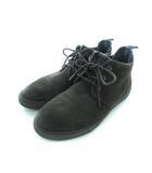 チャッカブーツ スウェード ハイカット 靴 シューズ ブラウン 41