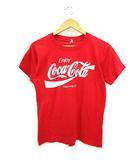 80's コカコーラ COCA COLA プリントTシャツ ロゴ スクリーンスターズ SCREEN STARS 半袖 USA製 レッド S