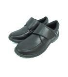 イグニオ IGNIO ウォーキングシューズ 靴 ベルクロ マジックテープ ブラック 24.0cm