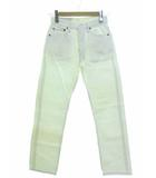 リーバイス Levi's 501 ホワイトデニム ジーンズ パンツ ストレート 501-0651 米国製 ボトムス W29