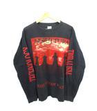 ヴィンテージ VINTAGE 90's セパルトゥラ SEPULTURA ロング Tシャツ 両面プリント USA製 メタル バンドT XL ROOTS BLOODY ROOTS 1996
