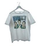 ヴィンテージ VINTAGE 80's エルヴィス プレスリー ELVIS Tシャツ USA製 1988 ANDY'S Tee shirts 両面プリント ホワイト L