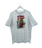 90's ラットフィンク Rat Fink Tシャツ Ed Roth ホットロッド USA製 ライトグレー L