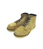 レッドウィング REDWING 8173 刺繍羽タグ アイリッシュセッター ブーツ スエード ベージュ オールド