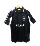 ソフネット SOPHNET. F.C.Real Bristol トランスポート ゲームシャツ クールマックス ポロシャツ 初期 ブラック S