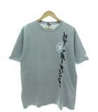 Tシャツ 半袖 カットソー スケートボーディング トップス グレー L