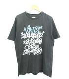 Tシャツ 半袖 カットソー トップス ロゴ プリント グレー XL