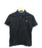 ポロシャツ 半袖 トップス ロゴ ブラック 2