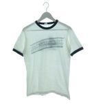 ヘインズ Hanes 70's リンガーTシャツ プリントTシャツ USA製 ヴィンテージ ホワイト M