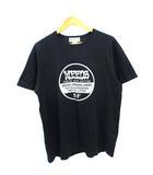 ササフラス SASSAFRAS WEEDS プリント Tシャツ ブラック L