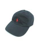 ポロ ラルフローレン POLO RALPH LAUREN キャップ 帽子 ロゴ ブラック 59cm