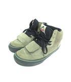マウンテンエディション MOUNTAIN EDITION ハイカット スニーカー 靴 ベルクロ オリーブ 61/2