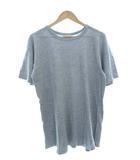 チャンピオン CHAMPION 80's トリコタグ Tシャツ ワンツー 88/12 無地 目無し USA製 オリジナル ヴィンテージ 杢グレー XL