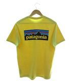 パタゴニア Patagonia ロゴ レスポンシビリティー Logo Responsibili-Tee Tシャツ 半袖 カットソー アウトドア イエロー S