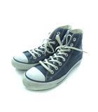 コンバース CONVERSE オールスター ALL STAR キャンバス ハイカット スニーカー 靴 ネイビー 25.5cm