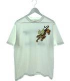 バズリクソンズ BUZZ RICKSON'S Fourteenth Air Force Tシャツ 半袖 カットソー フライングタイガーズ USA製 ホワイト M