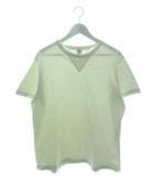 バーンズアウトフィッターズ Barns outfitters Tシャツ 半袖 カットソー 両V ホワイト L