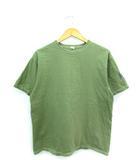 ザ フラットヘッド THE FLAT HEAD インスタントヒューマン Tシャツ 半袖 カットソー トップス カーキ 42
