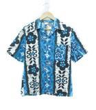 ヴィンテージ VINTAGE タウンクラフト TOWNCRAFT 70's アロハシャツ ペニーズ Penneys 花柄 ブルー