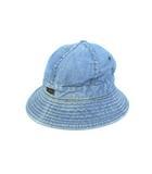 リー LEE 70's デニム ハット 帽子 黒タグ ヴィンテージ ライトブルー