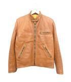 ヴィンテージ VINTAGE 60's 70's ジャストレザー just leather san jose ライダースジャケット ブラウン 肉厚レザー TALON