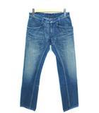 ブルーブルー BLUE BLUE デニムパンツ ジーンズ スリム ストレート インディゴ 29