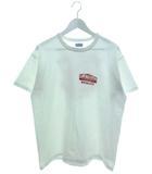 プリント Tシャツ 半袖 カットソー TWINART ホワイト 42