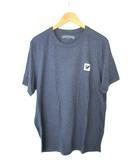 ORCHARD オーチャード  Tシャツ 半袖 ワンポイント ネイビー系 XL OOO