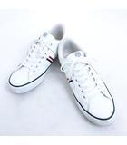 コンバース CONVERSE スニーカー 紐靴 ローカット ホワイト 白 27