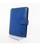 ルイヴィトン LOUIS VUITTON 手帳カバー エピ アジェンダPM R20055 CA0977 ブルー 青