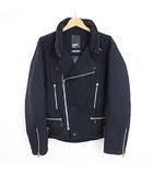 ネイバーフッド NEIGHBORHOOD サンダーボルト Limited Edition ジャケット スタンドカラー ライダース ブラック 黒 1