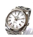 ロレックス ROLEX エアキング Ref.14000 自動巻 腕時計 ウォッチ A番 ホワイトローマン 白 SSAW