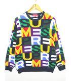 18FW Big Letter Sweater ビックレターセーター M マルチカラー 国内正規 AA 2sa1809