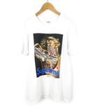 シュプリーム SUPREME UNDERCOVER アンダーカバー Tシャツ 半袖 16AW Anatomy Tee アナトミー ロゴ 柄 白 ホワイト コットン S コラボ