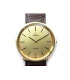 オメガ OMEGA 腕時計 ウォッチ DE VILLE デビル 手巻き ゴールド GOLD ラウンド 33mm アンティーク ビンテージ オールド