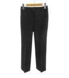 コムサイズム COMME CA ISM スラックス パンツ ストレート 黒 ブラック ウール XS ボトムス 美品