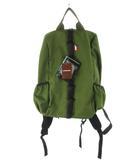 DOLDY ドルディ リュックサック デイパック STONE MINI ナイロン デオリーブ カーキ 緑 グリーン 鞄