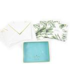 ケイトスペード KATE SPADE MERRY&BRIGHT HOLIDAY CARD SET 10枚セット ホリデーカードセット 手紙 小物