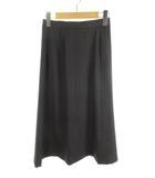 バーバリーズ Burberrys ロングスカート マキシ フレアー チャコールグレー 7号 美品