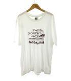 ザノースフェイス THE NORTH FACE シュプリーム supreme Tシャツ 半袖 NT318081 メタリックロゴ ボックスロゴ BOX LOGO Metallic 白 ホワイト L 国内正規品 18SS